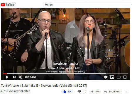 Evakon Laulu